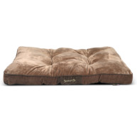 Scruffs Chester Mattress Dog Bed Large - Chocolate