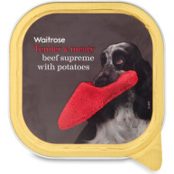 Waitrose Beef Supreme with Potatoes Adult Dog Food 300g x 9