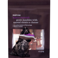 Waitrose Picnic Jumbles Dog Treats 150g