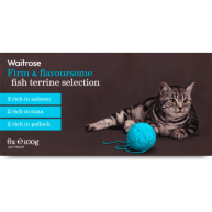 Waitrose Terrine Fish Selection Cat Food