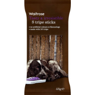 Waitrose Tripe Sticks 8s Dog Treats 48g