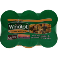 Winalot Casserole Selections In Gravy Tin Dog Food 400g x 6