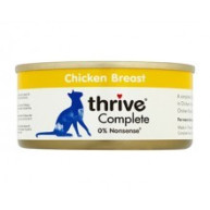 Thrive Complete 100% Chicken Adult Cat Food  75g x 12