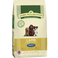 James Wellbeloved Lamb & Rice Puppy Food 15kg