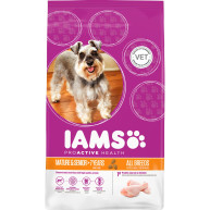 IAMS Chicken All Breeds Senior & Mature Dog Food 12kg x 2