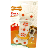 Nylabone DuraChew Plus Bacon Bone Dog Chew