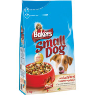 Bakers Complete Beef & Vegetable Small Breed Adult Dog Food 2.7kg