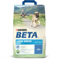 BETA Turkey Large Breed Puppy Food 2.5kg