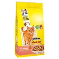 Go-Cat Salmon & Vegetable Adult Cat Food 2kg