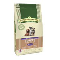 James Wellbeloved Small Breed Turkey & Rice Senior Dog Food 1.5kg