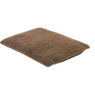 Earthbound Removable Waterproof Sherpa Dog Brown Mat  Medium
