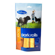 Hollings Pork Rolls Dog Treats 3 PK