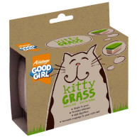 Armitage Cat Good Girl Kitty Grass