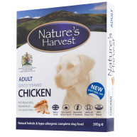 Natures Harvest Chicken & Brown Rice Adult Dog Food 395g x 10