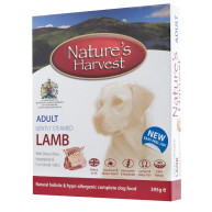 Natures Harvest Lamb Adult Dog Food 395g x 10