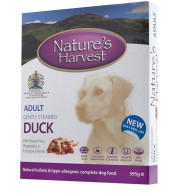 Natures Harvest Chicken & Duck Adult Dog Food 395g x 10
