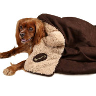 Scruffs Snuggle Dog Blanket Chocolate