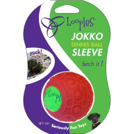 Loopies Jokko Sleeve Tennis Ball Cover Red