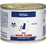 Royal Canin Veterinary Diets Renal Cat Food Cans 195g x 12