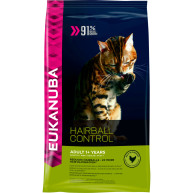 Eukanuba Hairball Control 1+ Rich in Chicken Adult Cat Food