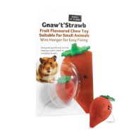 Gnaw T Strawb for Small Animals 5cm