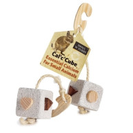 "Sharples Pet Cal c Yum Cube for Small Pets 1.8""x1.8"""