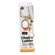 Small N Furry Climb n Ladder 31 x 25 x 9cm