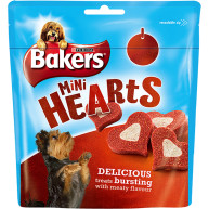Bakers Healthy Hearts Dog Treats 98g
