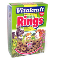 Vitakraft Nibble Rings for Small Pets 300g