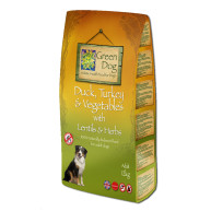 Greendog Duck Turkey & Veg Adult Dog Food