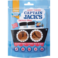 Good Boy Captain Jacks Salmon Bites Dog Treats 90g