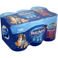 Butchers Rustic Feasts Chunks in Jelly Dog Food 400g x 6