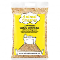 Animal Dreams Compressed Lemon Shaving Bale 3.5kg