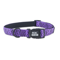 Rok Straps Purple Dog Collar