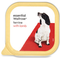 essential Waitrose Terrine with Lamb Dog Food