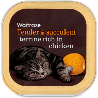 Waitrose Special Recipe Chicken Cat Food 100g x 17
