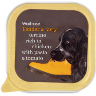 Terrine Rich in Chicken Pasta & Tomato Dog Food 150g x 11