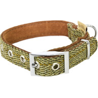 Earthbound Tweed Green Collar Small