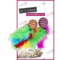 Happy Pet Carnival Ball Cat Toy
