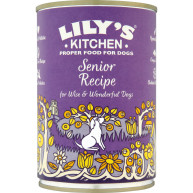 Lilys Kitchen Senior Recipe for Older Dogs 400g x 6