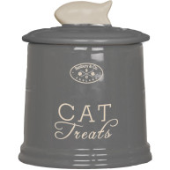 Banbury & Co Ceramic Cat Treat Storage Jar