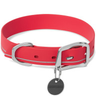 Ruffwear Red Currant Headwater Dog Collar