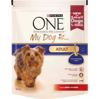 Purina ONE My Dog Is...Adult Beef & Rice Small Dog Food 800g