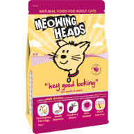 Meowing Heads Hey Good Looking Chicken Adult Cat Food 4kg