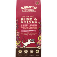Lilys Kitchen Rise & Shines Beef Liver & Fresh Carrots with Botanical Herbs Baked Dog Treats 100g