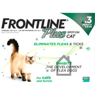 Frontline Plus Flea & Tick Spot On Cat