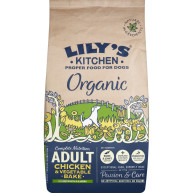 Lilys Kitchen Organic Chicken & Vegetable Bake Complete Dry Food for Dogs