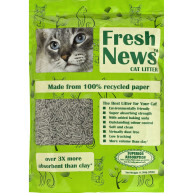 Fresh News Cat Litter (Previously Yesterdays News) 11.36kg