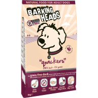 Barking Heads Quackers Grain Free Duck Adult Dog Food 12kg x 2