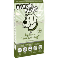 Barking Heads Big Foot Bad Hair Day Lamb Large Adult Dog Food 12kg
